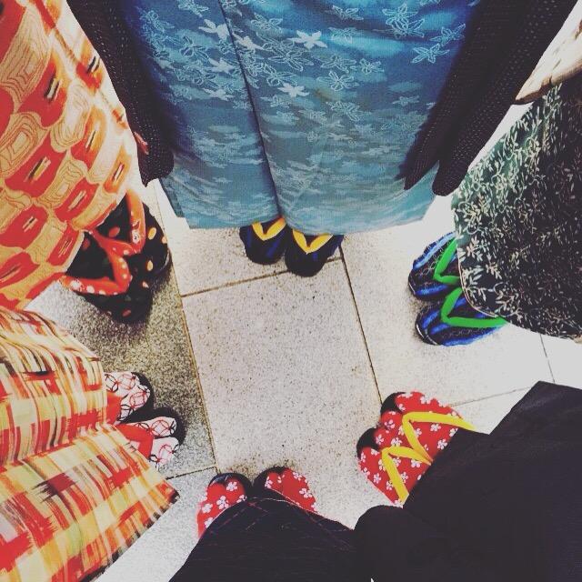 Kimono snap