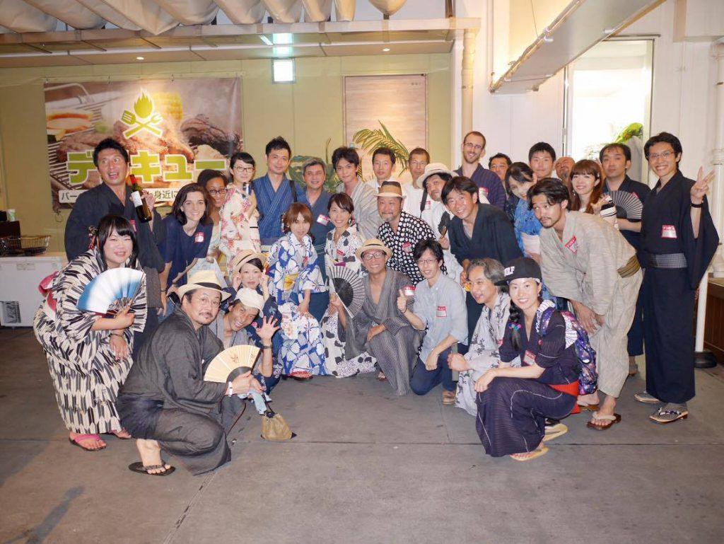 【イベントレポ】第13回着物組浴衣×夜BBQで国際交流〜International Exchange Event〜