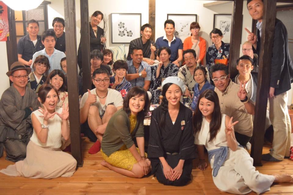 【イベントレポ】はならび× Graces JAPAN 浴衣で異文化交流パーティー
