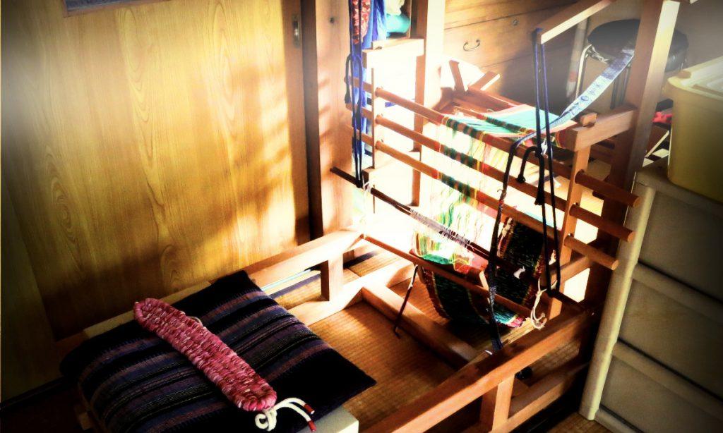 【ブログ】神様から頂いた、裂き織り機