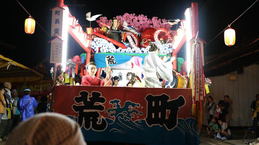 青森のローカルなお祭りで唯一オススメな「名川秋祭り」に行って来た。