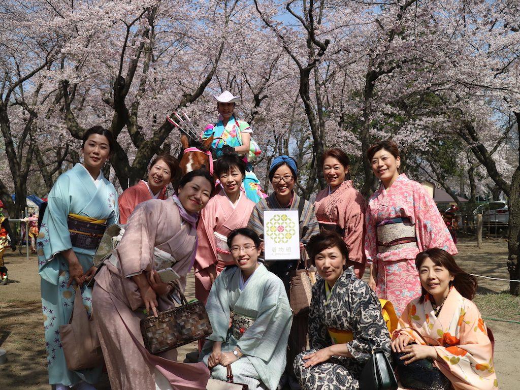 【イベントレポ】4/21着物で桜流鏑馬鑑賞会